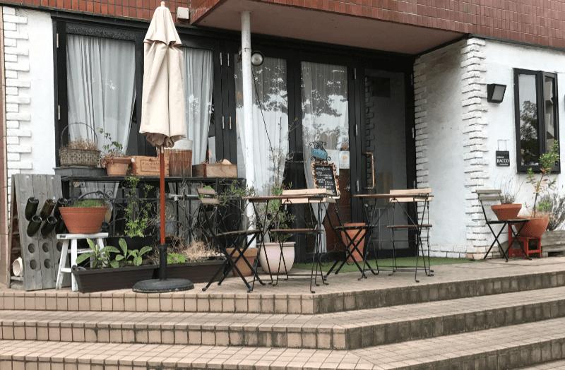 新潟市中央区オステリアバッコの外観