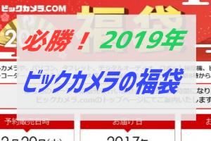 ビックカメラ福袋2019ネット予約必勝法
