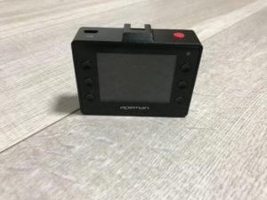 APEMANのC760、ドライブレコーダーの本体ディスプレイ側