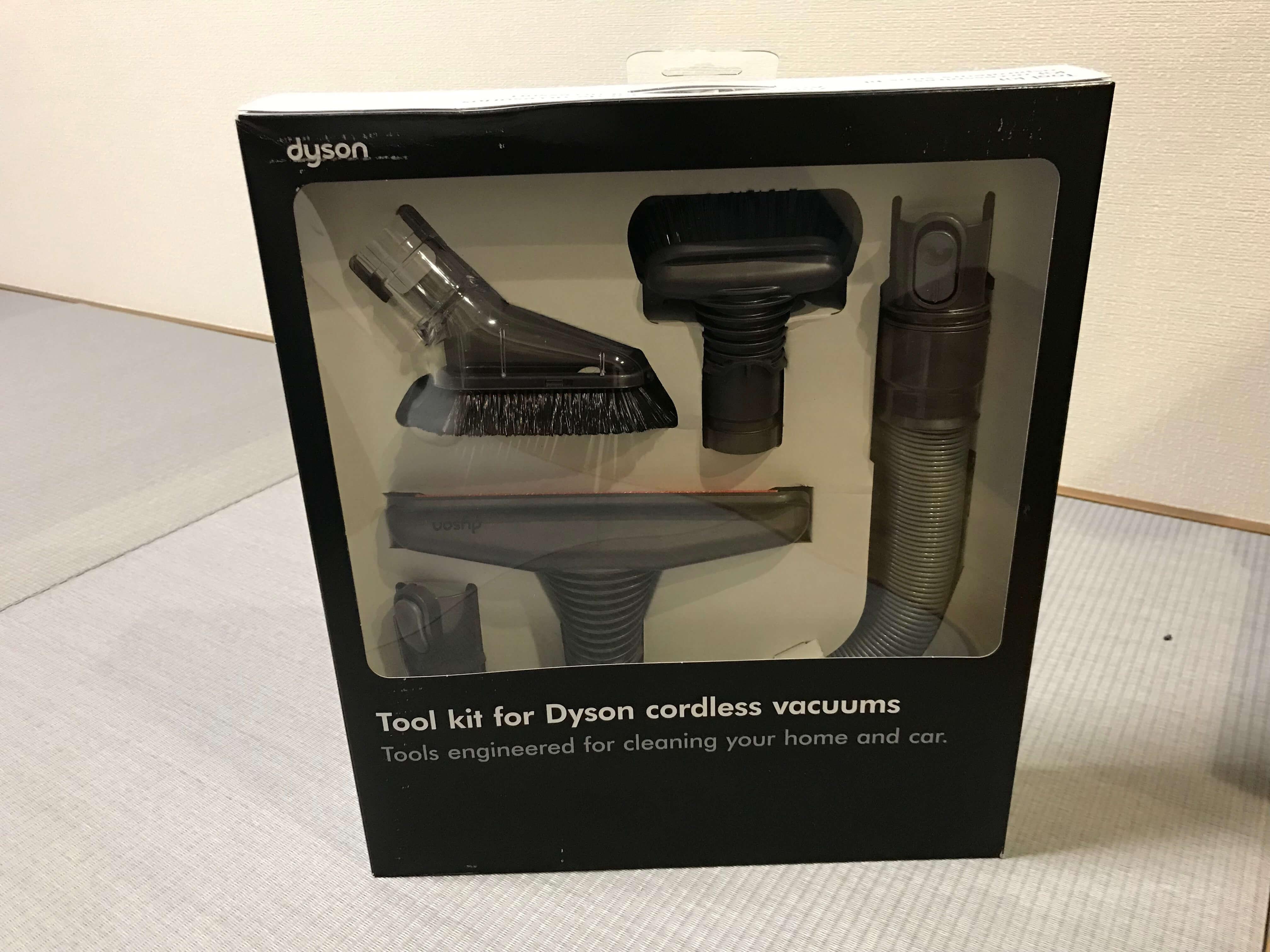 Dyson V6 のツールキット