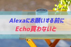 Alexaに対応するEchoデバイスを調査