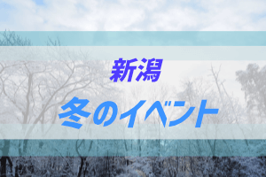 新潟の冬のイベント
