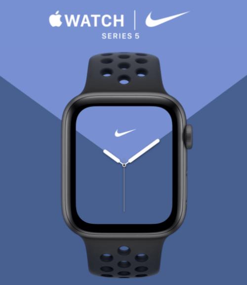 スポーツならNikeを選びたい、AppleWatch