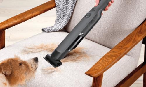 ペットの長い毛も物ともしない吸引力、EVO POWER