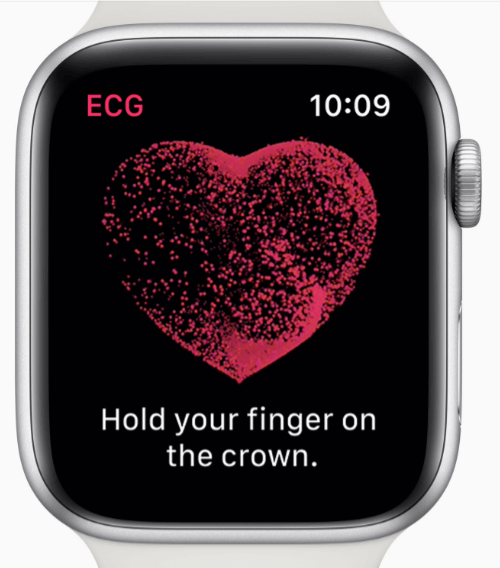 ECGもついて進化したパルスメーター、アップルウォッチ
