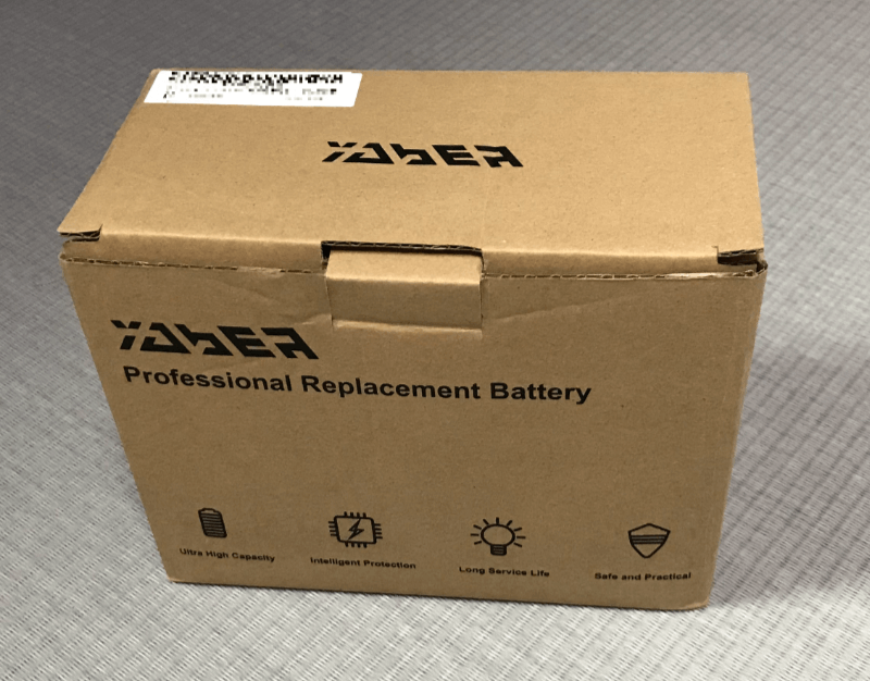 YaberのDysonバッテリーV6