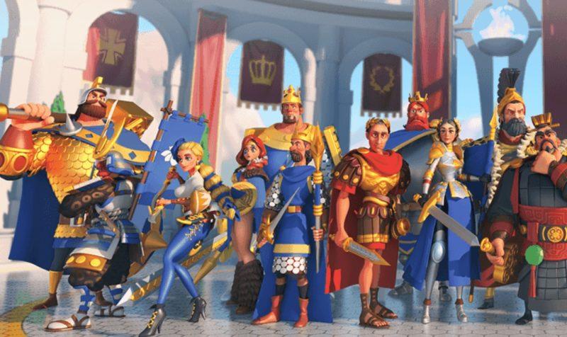 英雄が集結、Rise of Kingdom 万国覚醒