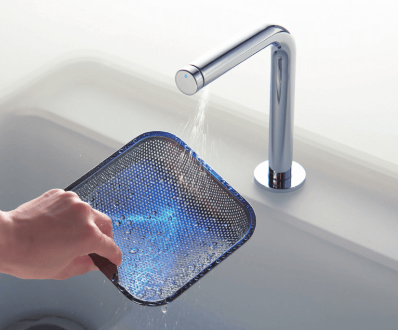 きれい除菌水、TOTOのキッチン