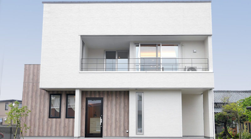 グリーンスタイルの実例、店舗併設型の家づくり
