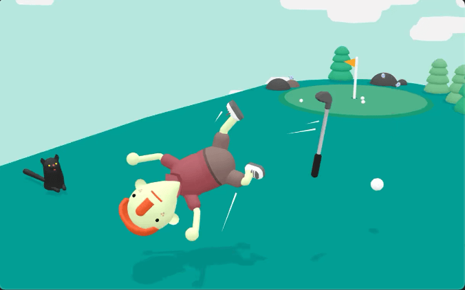 WHAT THE Golf?、Apple Arcadeの攻略お勧めゲーム、おふざけ