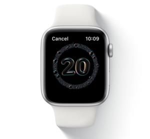 AppleWatchで手洗い補助、20秒間は時間をかけよう