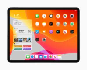 iPadのウィジェットエリアが使いやすくなる