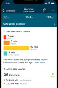 Fitbitのヘルスアプリ
