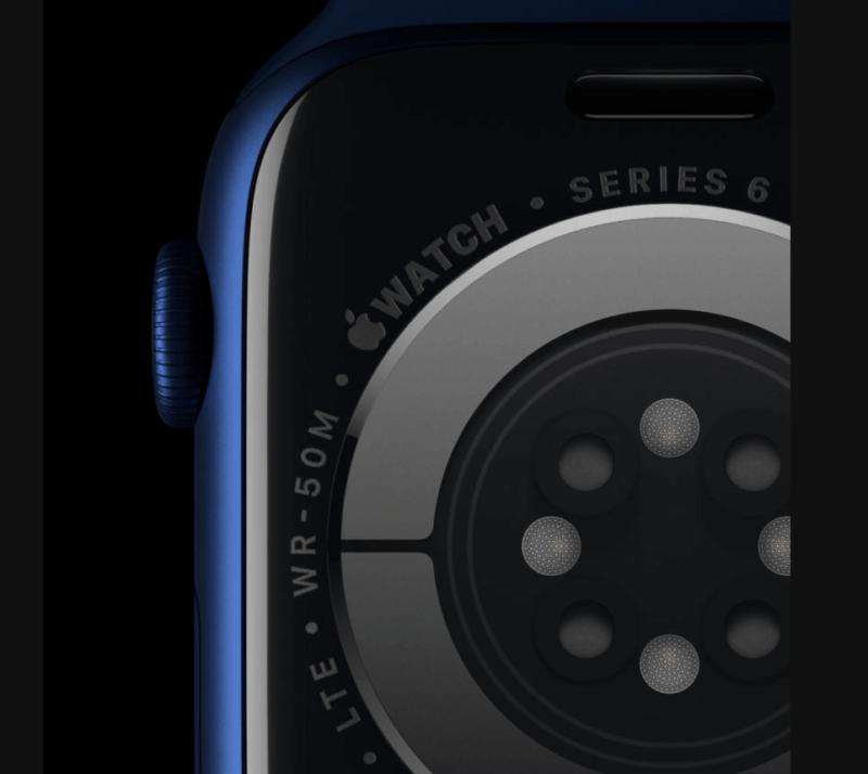 Apple Watch Series 6で搭載されたパルスオキシメーター機能とそのセンサー