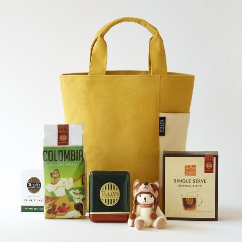 タリーズコーヒーの福袋、2018年の3000円バッグ