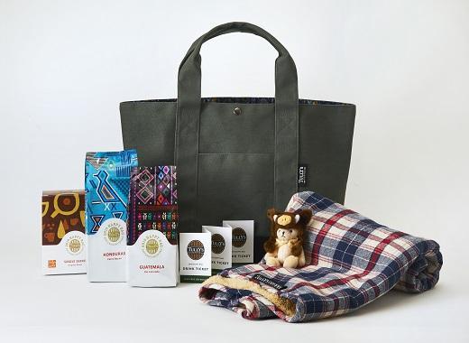 タリーズコーヒーの福袋、2019年の5000円バッグ