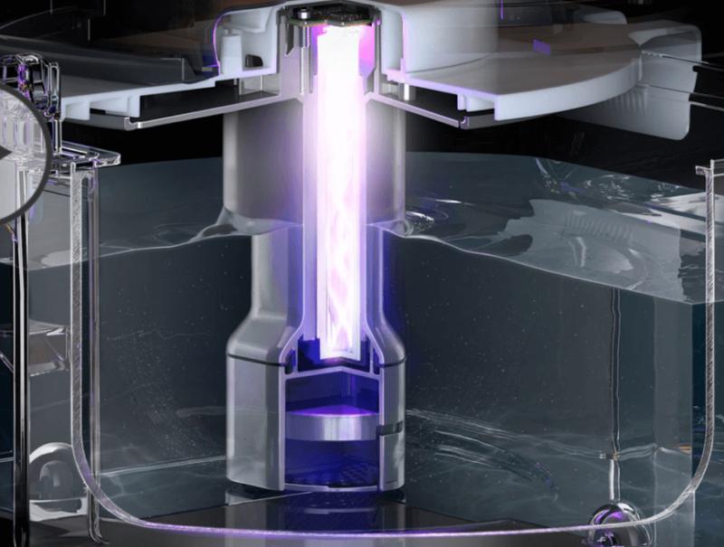 Dyson加湿器は紫外線で除菌する