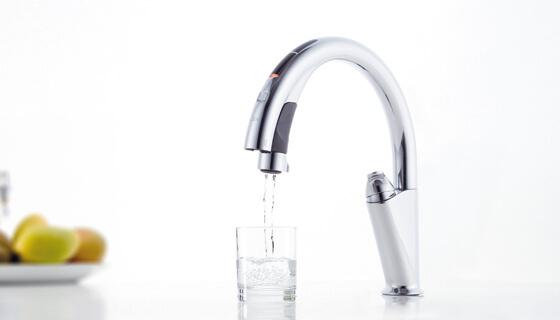 LIXILのナビッシュ、浄水モードも簡単操作