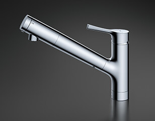TOTOカートリッジ型の浄水器混合水栓