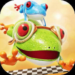 Frogger in Toy Townのアイコン、子供におすすめしたいAppleArcadeのゲーム