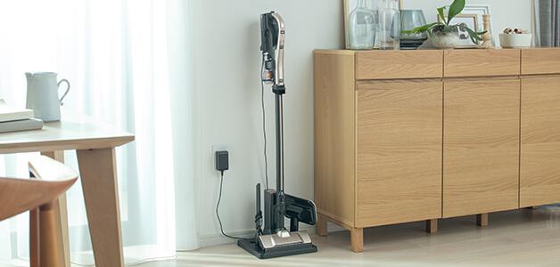 家電っぽい充電感は出る、ラクかるスティック PV-BL2H