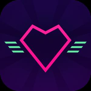 Sayonara Wild Heartsのアイコン、子供におすすめしたいAppleArcadeのゲーム
