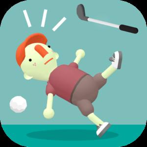 WHAT THE GOLF:これがゴルフ?のアイコン、子供におすすめしたいAppleArcadeのゲーム