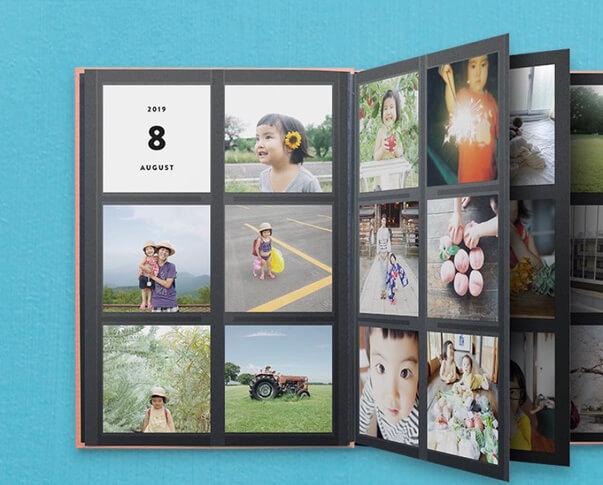 フォトブックにして嬉しい真四角写真、フォトプリントサービス、真四角写真が嬉しいALBUS