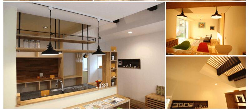 Resizeの新発田モデルハウスの内装、新潟でRe-size(リサイズ)で家を建てる