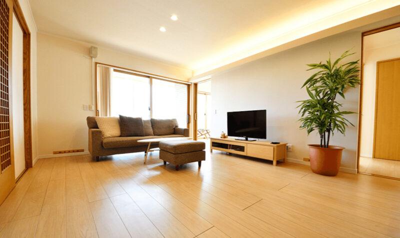 二世帯リビング、光栄住宅に新潟の家づくりを依頼する