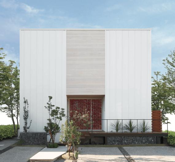 TRETTIOの外観、新潟でRe-size(リサイズ)で家を建てる
