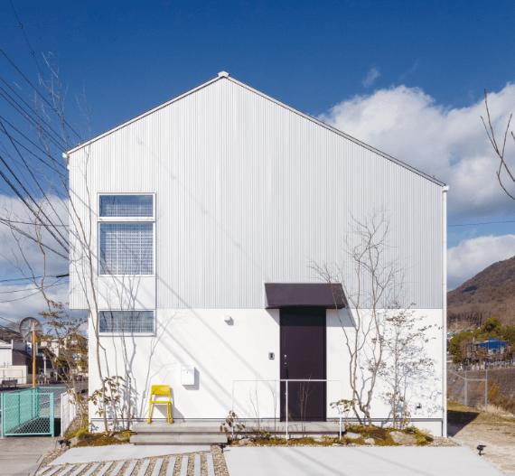 GRADの外観、新潟でRe-size(リサイズ)で家を建てる