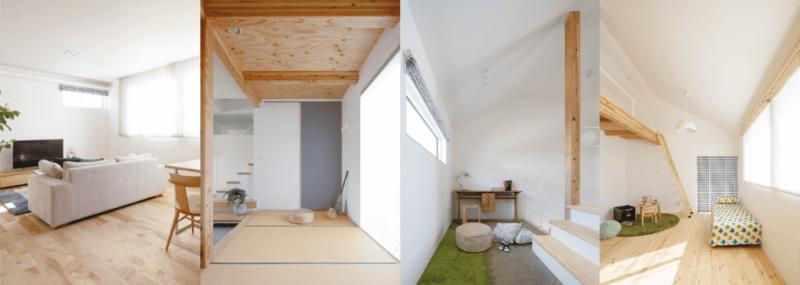 GRADの内装、新潟でRe-size(リサイズ)で家を建てる