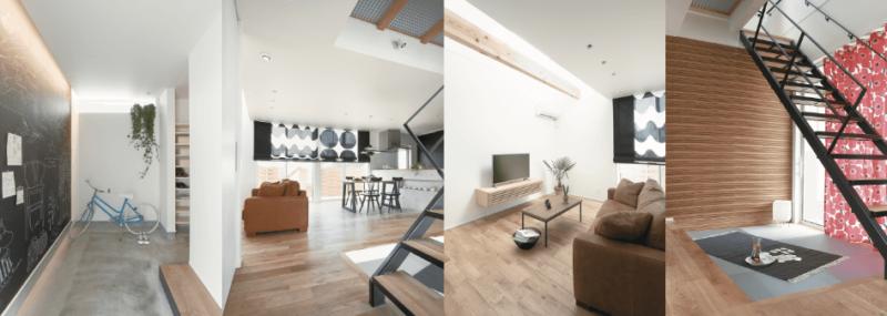 TRETTIOの内装、新潟でRe-size(リサイズ)で家を建てる