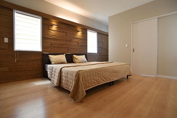 モデルハウス寝室、新潟の家づくりで吉川建築(yoshikawa architecture)はお勧めできるか