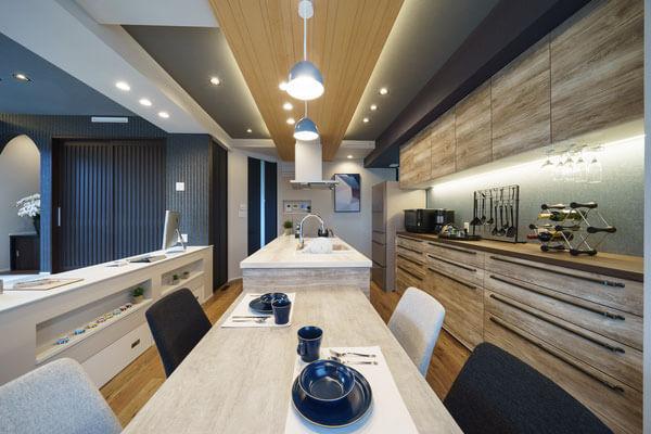 モデルハウスダイニング、新潟の家づくりで吉川建築(yoshikawa architecture)はお勧めできるか