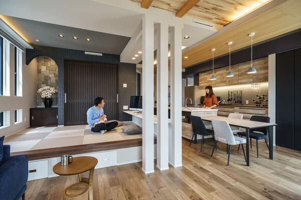 モデルハウス小上がり和室、新潟の家づくりで吉川建築(yoshikawa architecture)はお勧めできるか