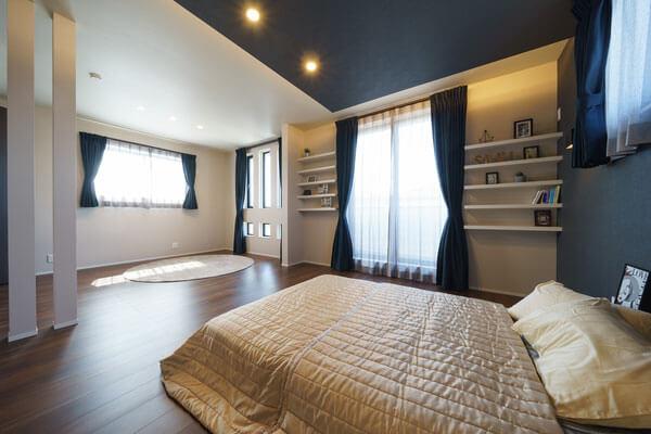 モデルハウスベッドルーム、新潟の家づくりで吉川建築(yoshikawa architecture)はお勧めできるか